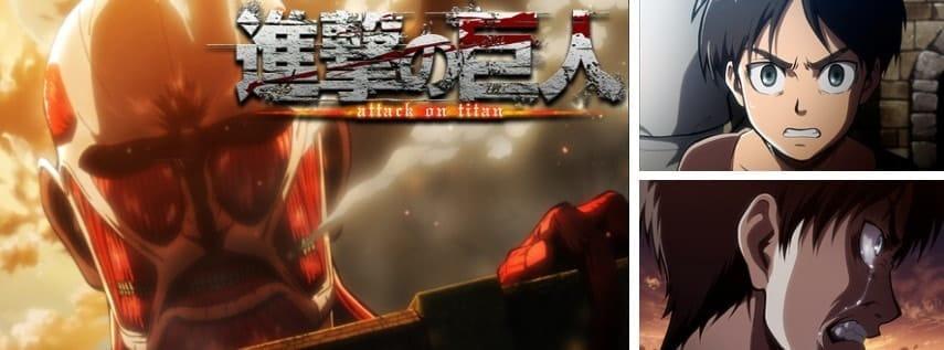 dアニメストアで配信中のアニメ「進撃の巨人」
