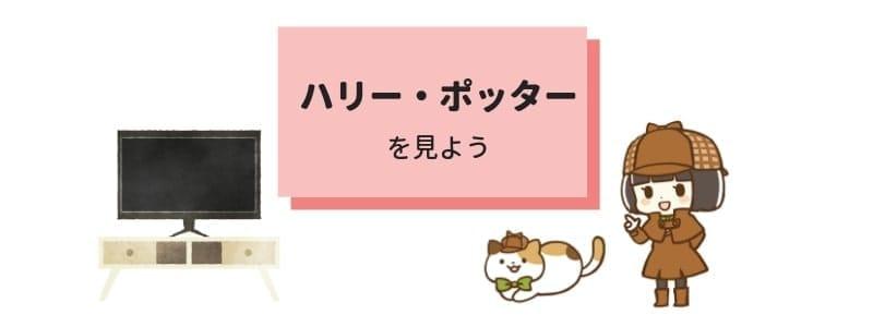 ハリーポッターの映画がお得に見れるサービスまとめ(動画配信・宅配レンタル)