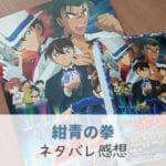 【名探偵コナン 紺青の拳(フィスト)】ネタバレ感想・解説!園子と京極さんカップルが素敵