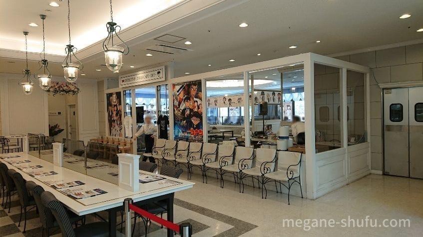 コーチャンフォー新川通り店で開催された「名探偵コナンカフェ2019」 店内の様子